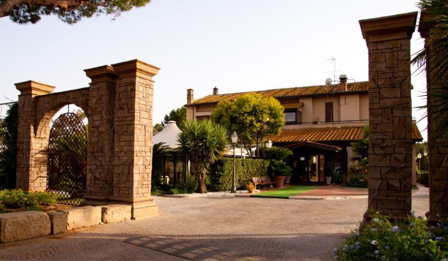 Cenone a Villa Rinaldo a Roma