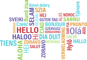 saluti in varie lingue straniere