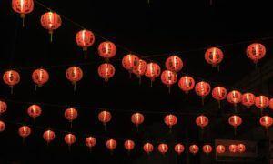 lanterne del capodanno cinese
