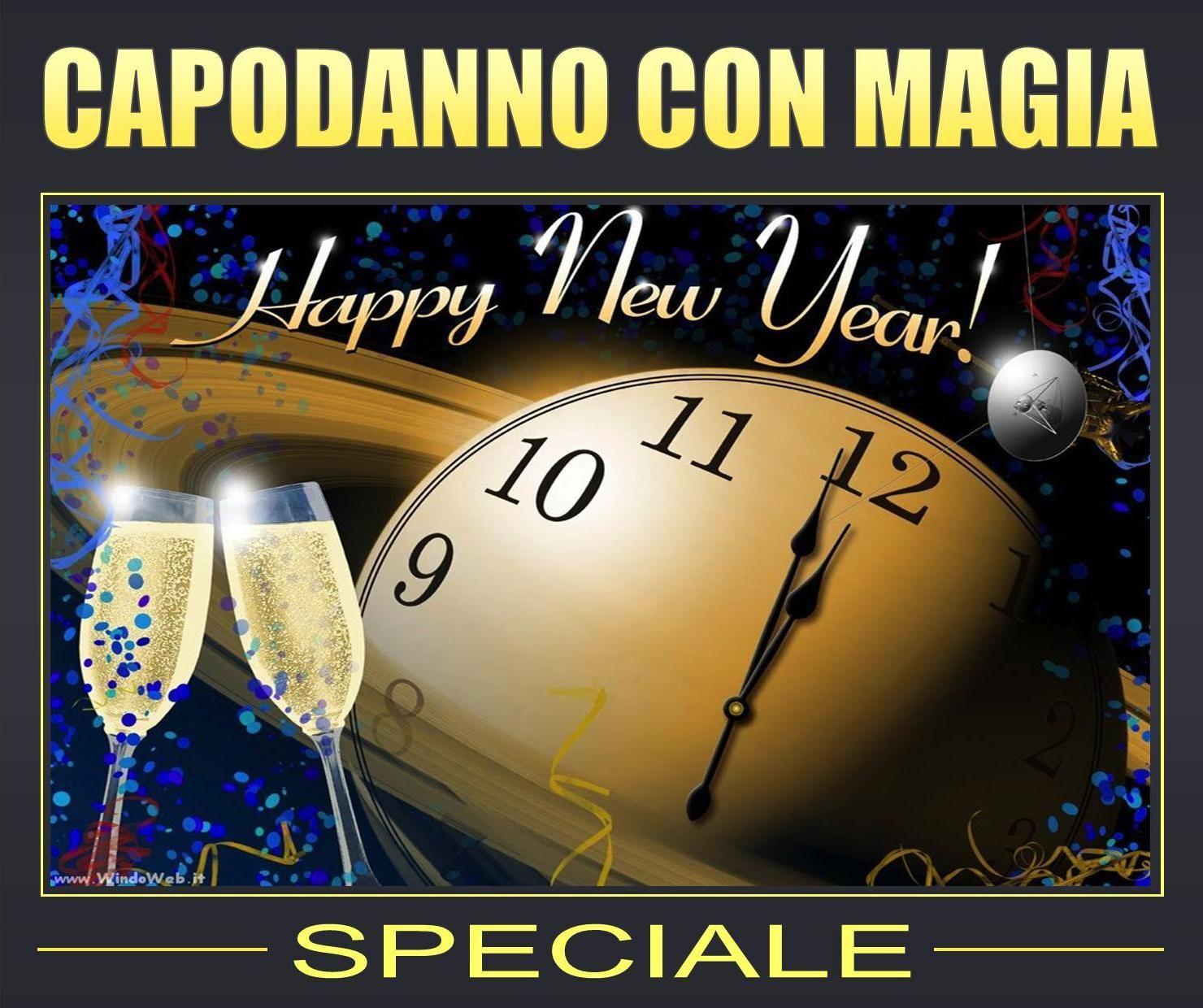 capodanno 2019 con magia all'hotel pacific fortino di torino