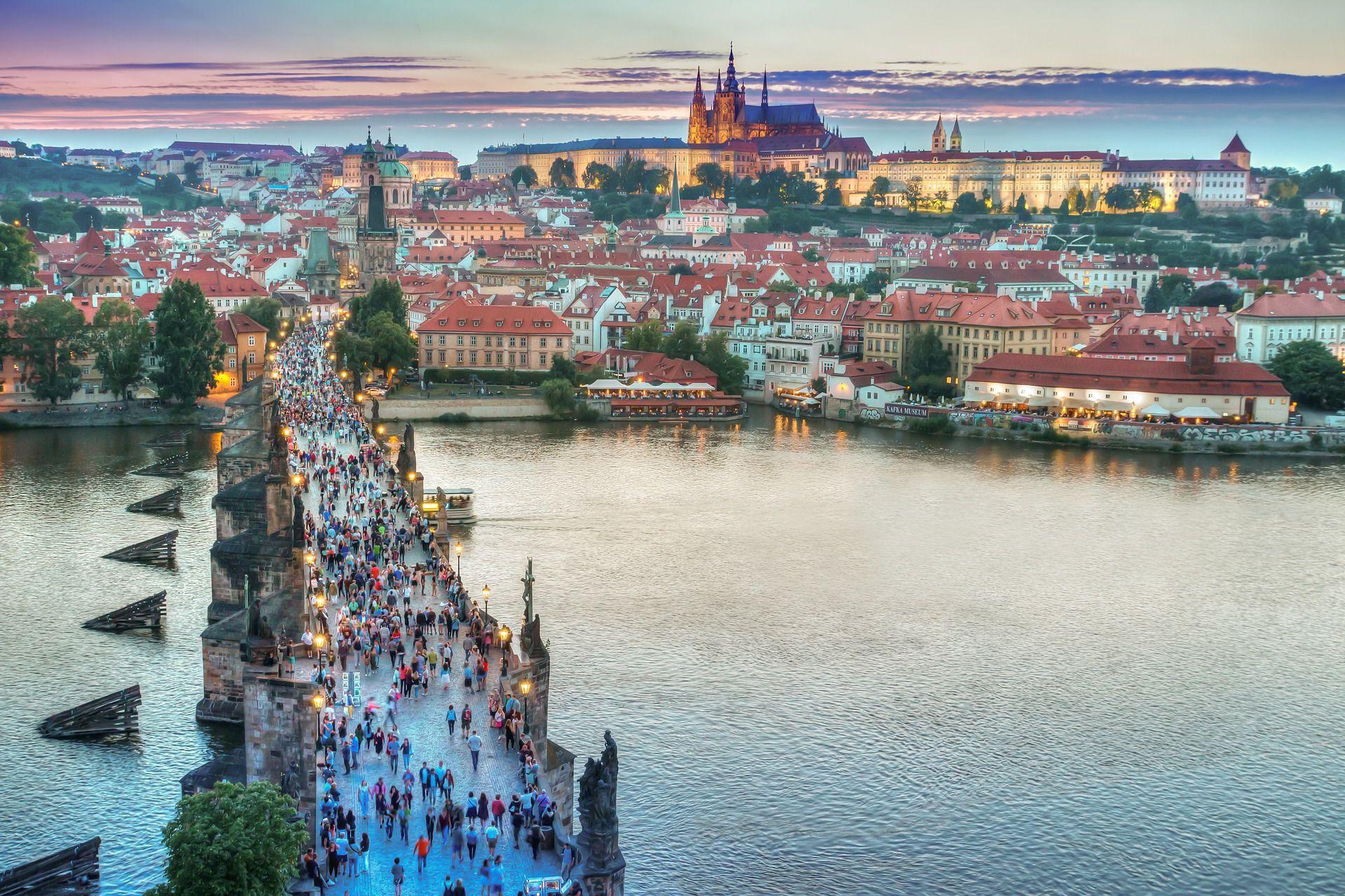 Praga - Ponte Carlo