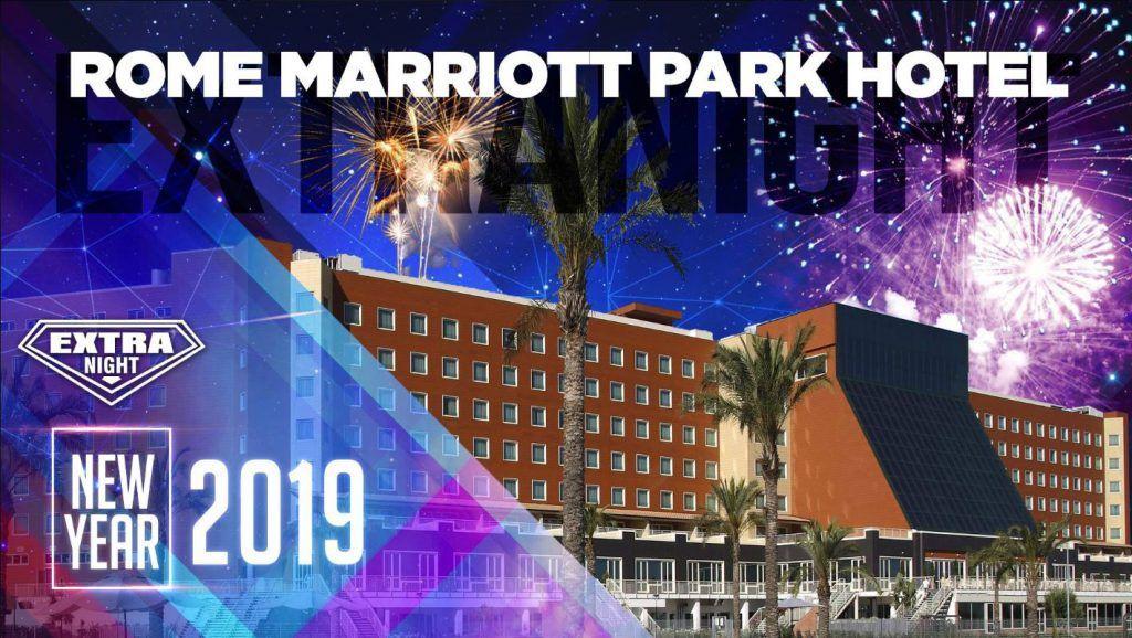 capodanno al marriott park hotel di roma