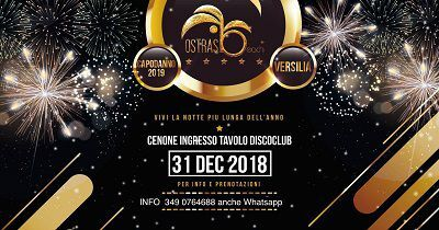 capodanno all'ostras club