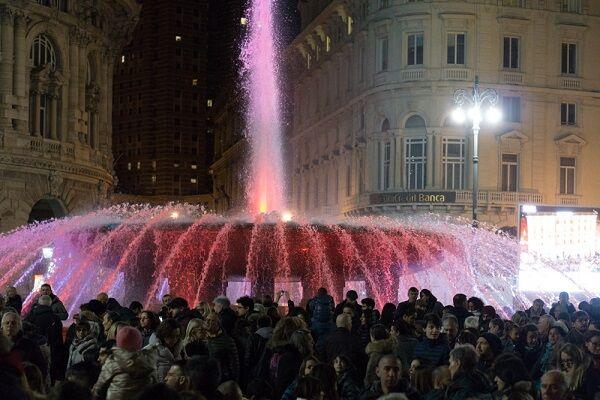 festa capodanno in piazza de ferrari
