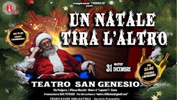 Capodanno per famiglie al Teatro San Genesio