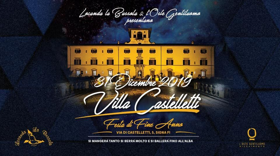 Capodanno a Villa Castelletti