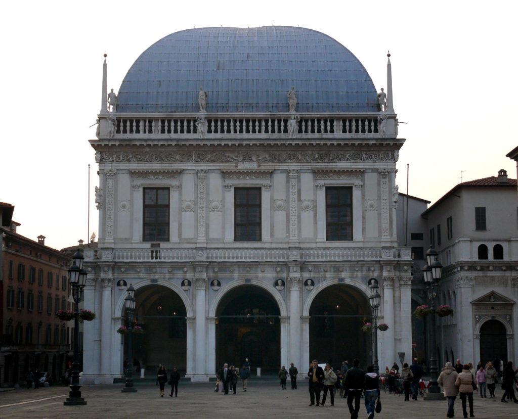Capodanno a Brescia, la Loggia