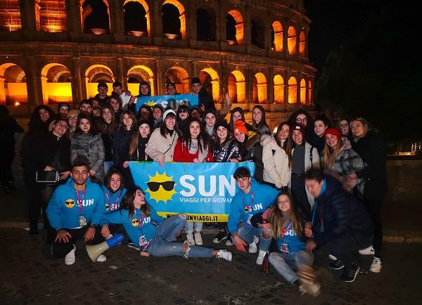 capodanno a roma per giovani organizzato da Sun Viaggi