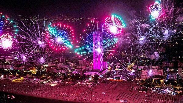 fuochi artificio rimini a capodanno