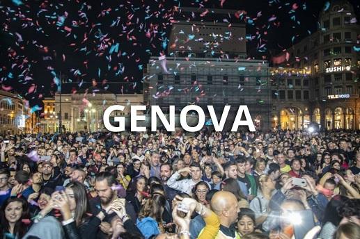 capodanno in piazza a genova
